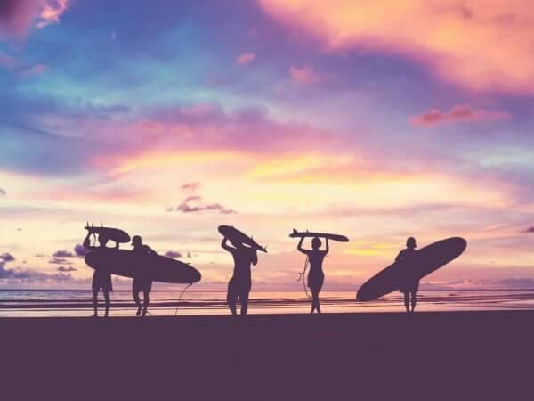 Surf et environnement - École de surf Hastea